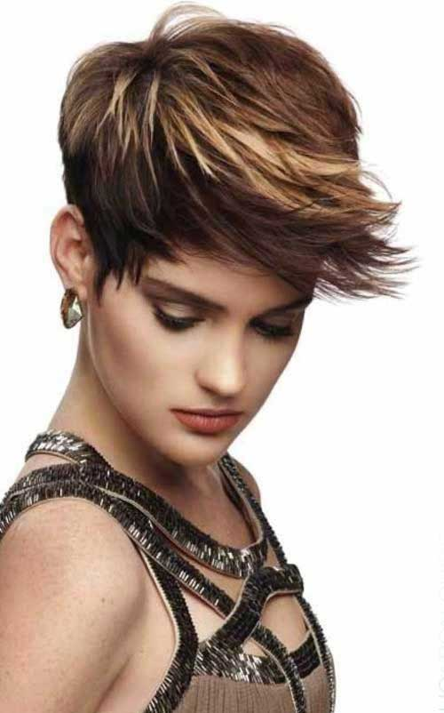 Funky Pixie Haircuts Idea