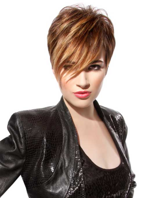 Funky Short Pixie Cuts 2015