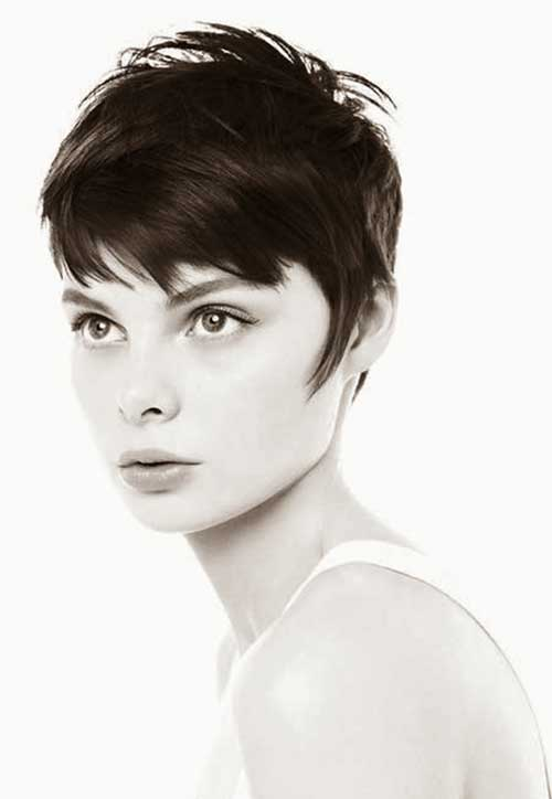 Funky Short Thin Pixie Haircuts