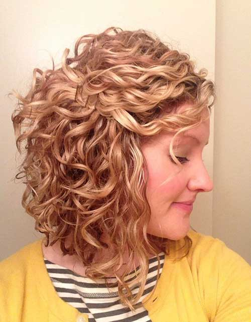 Surprising Inverted Bob Hairstyles For Curly Hair Best Hairstyles 2017 Short Hairstyles Gunalazisus