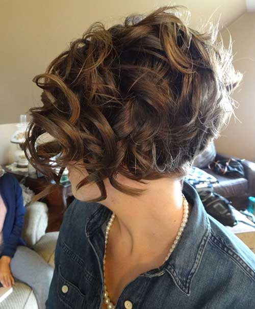 Good Hairstyles for Short Curly Bob Hair
