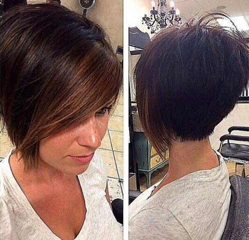 Haircuts for Short Straight Dark Hair