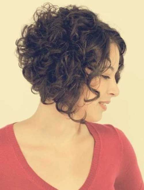 Hairstyles for Curly Short Women Haircut