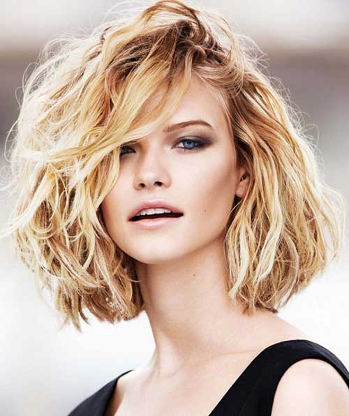 Admirable 20 Short Haircuts For Thick Wavy Hair Short Hairstyles Short Hairstyles Gunalazisus