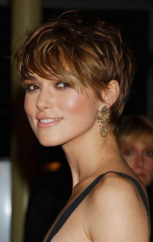 Keira Knightley Pixie Cuts