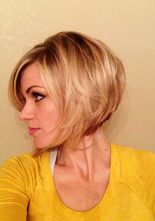 Layered Bob Straight Hairstyles