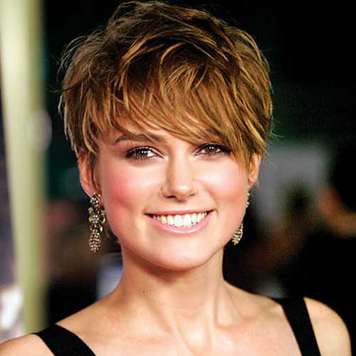 Layered Cool Pixie Cut for Women