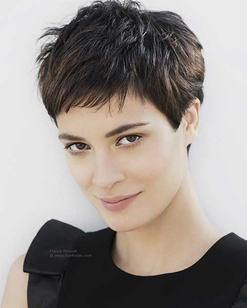 Layered Cute Short Pixie Haircuts 2015