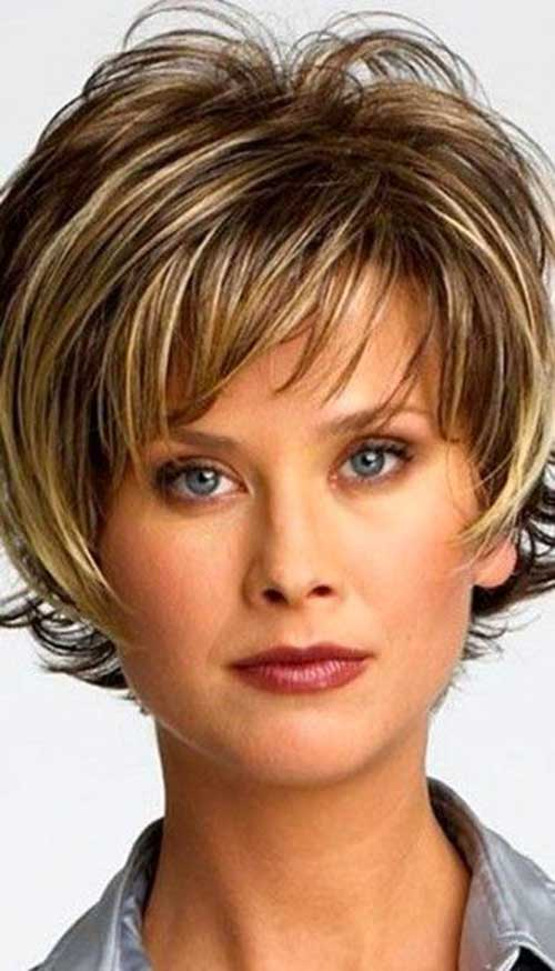 Layered Short Hair 2014-2015