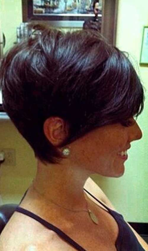Layered Short Pixie Cuts 2015