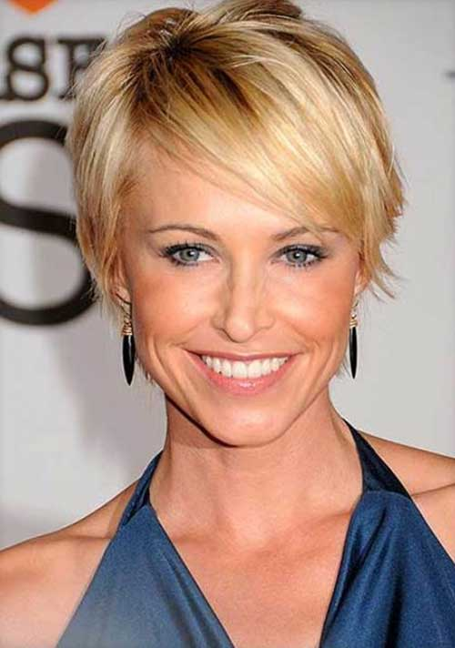 Layered Short Thin Hair Styles