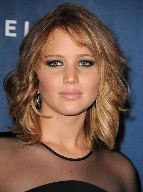 Layered Wavy Long Bob Hairstyles