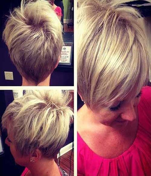 Long Straight Pixie Hairstyles