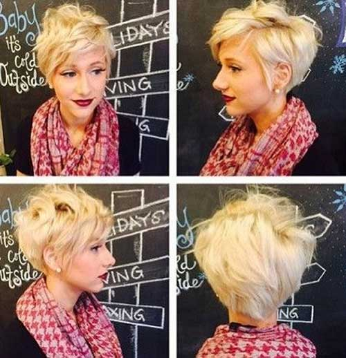 Messy Blonde Hairstyles Short Hair Ideas