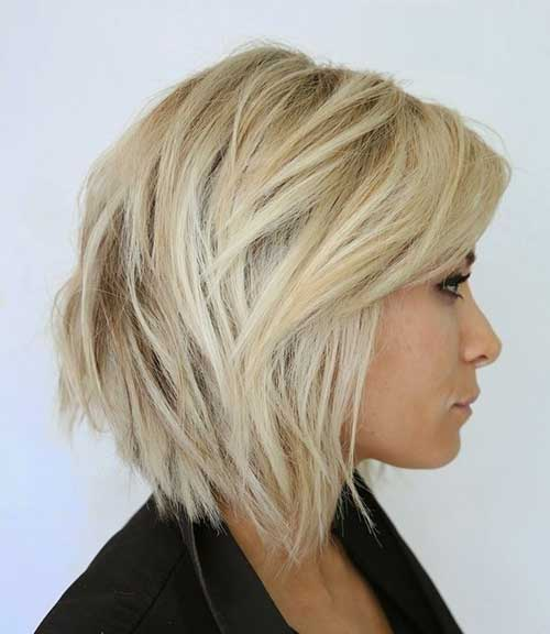 Messy Hairstyles Short Bob Cut Ideas