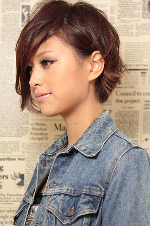 Sensational 15 Best Messy Hairstyles For Short Hair Short Hairstyles Short Hairstyles Gunalazisus