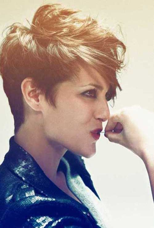 Messy Pixie Hairstyles Short Hair Cut