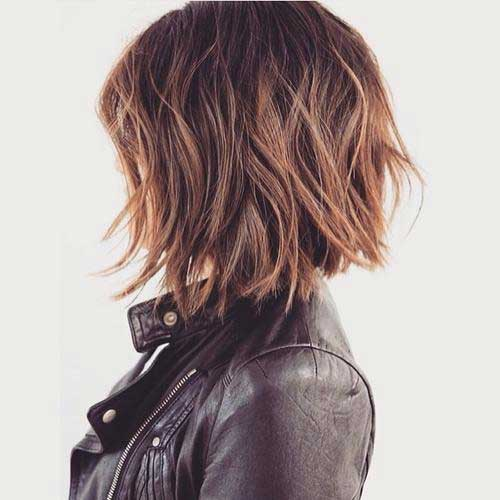 Messy Short Bob Hairstyles Ideas