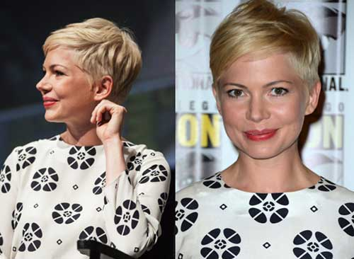 Michelle Williams Pixie 2015