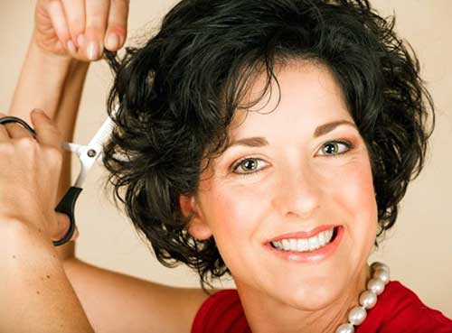 Modern Curly Hairstyles For Women Over 50