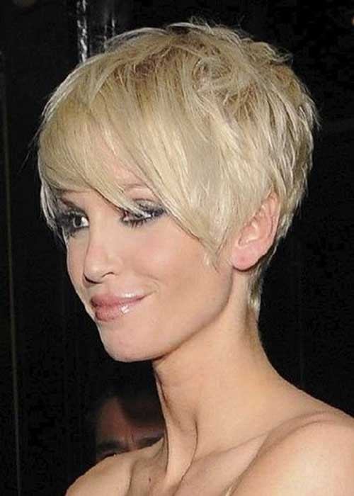 Modern Pixie Blonde Hair 2015