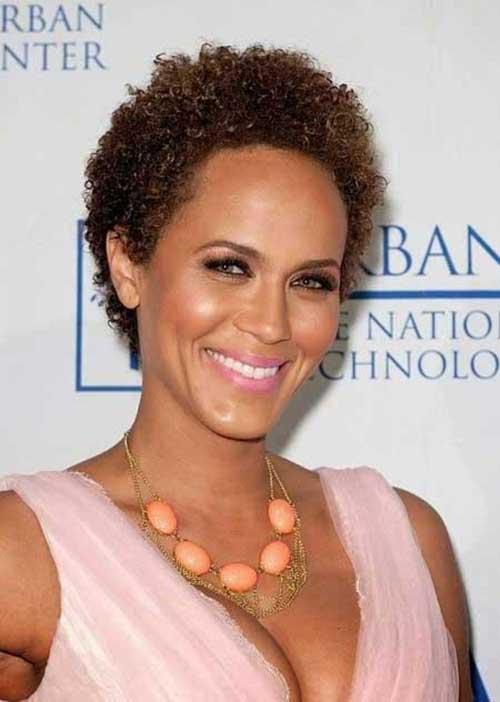 Natural Hair Short Cuts for Black Women 2015