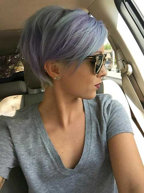 Pretty Pastel Pixie Hair