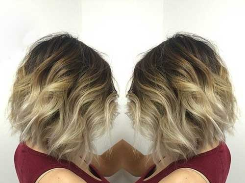 Photos Of Short Ombre Wavy Hairstyles