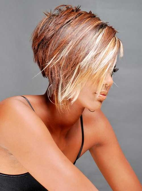 Pictures of Inverted Short Hair Styles