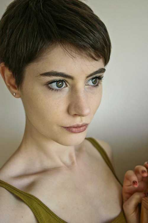 Pictures of Short Pixie Hair