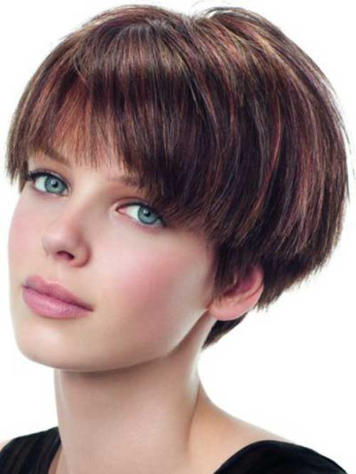 Pictures of Short Straight Hair Cuts