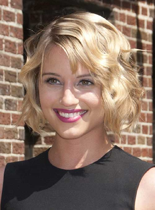 Pictures of Short Wavy Curly Hairstyles