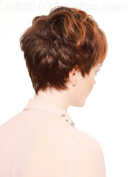Pixie Cut Back View Images