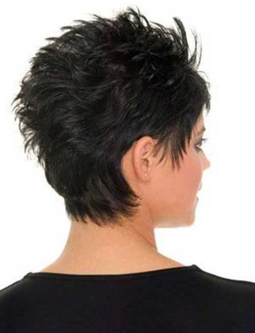 Pixie Cut Back View for Women