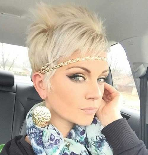 Pixie Cut Styles Headband