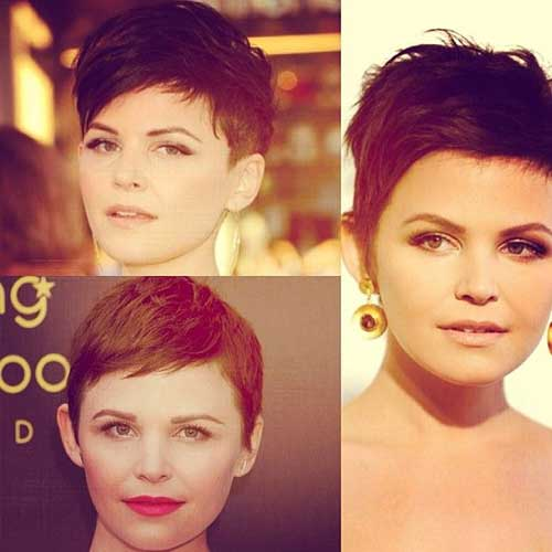 Pixie Cut for Round Face Styles