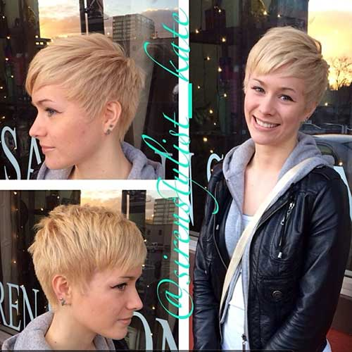 Blonde Pixie Cuts for 2015