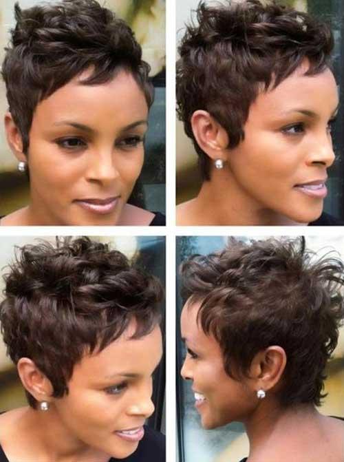 Pixie Hair Short Cut for Black Women 2015