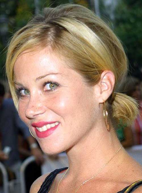 Ponytail Styles for Short Blonde Hair