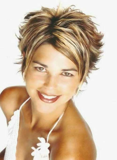 Layered Short Haircuts 2015