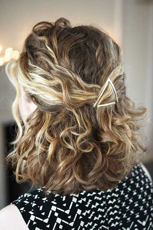 Pretty Curly Short Cuts Ideas