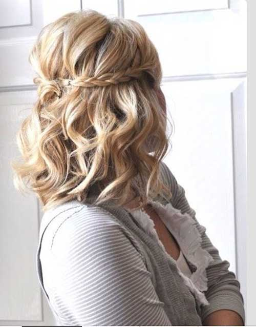 Pretty Medium Half Up Hairstyles