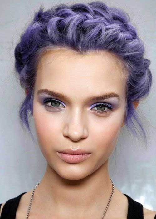 Pretty Short Updo Hairstyles