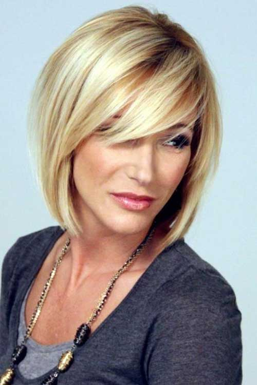 Short Blonde Haircut Layered Ideas