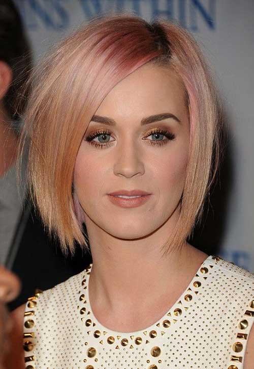 Short Blonde Straight Hair 2014