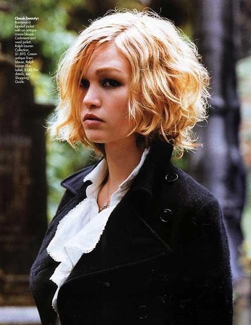 Short Hairstyles For Round Faces And Curly Hair Short