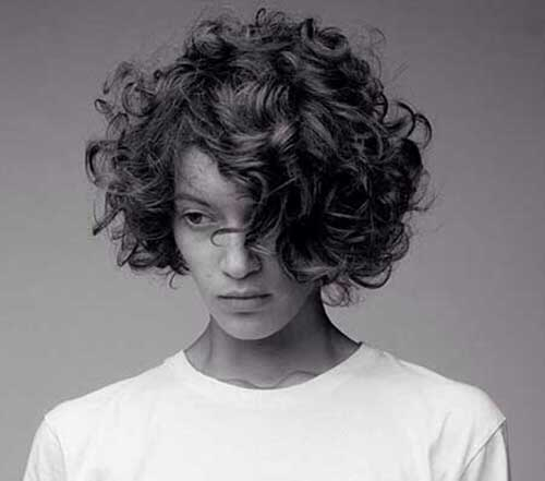 Wondrous 10 Short Curly Haircuts For Round Faces Short Hairstyles Short Hairstyles For Black Women Fulllsitofus