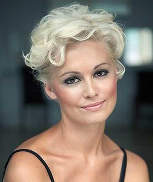 Admirable Short Blonde Curly Hair Cuts Short Hair Fashions Hairstyles For Women Draintrainus