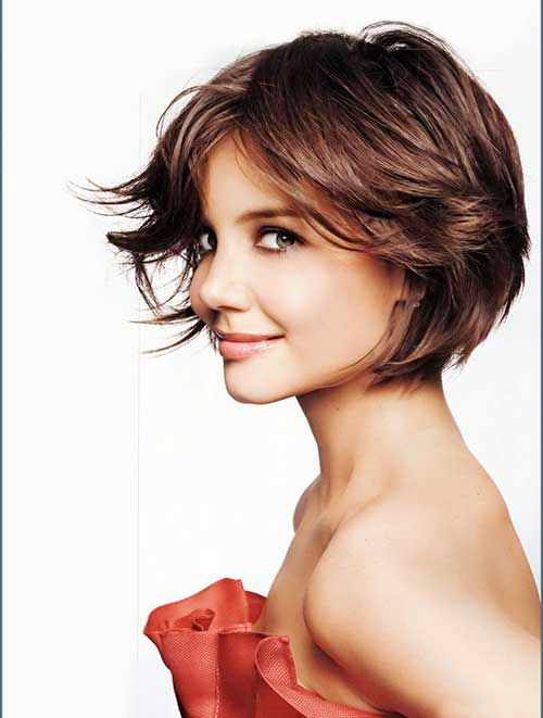 Layered Short Cute Hairstyle