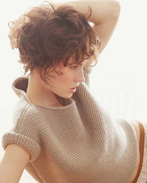 Short Cuts Curly Wavy Hairstyles